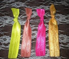 Hot Girl Collection- Pretty and Stylish Hair Elastics by Elle and Grace